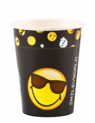 8 Smiley Emoticons™ muggar 250 ml