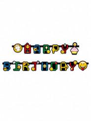 Girland med bokstäver och Smiley Emoticons™