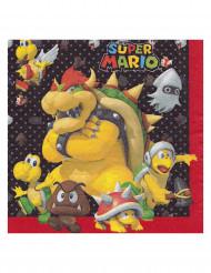 8 Servetter Super Mario™ 33 x 33 cm