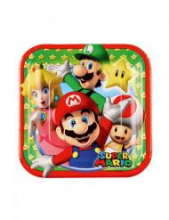 Super Mario™ kartong tallrik 18 cm