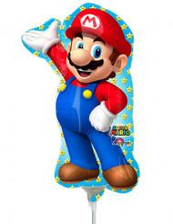 Super Mario™ aluminium ballong 20 x 30 cm
