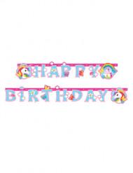 Girland Enhörning Happy Birthday 1.79 cm