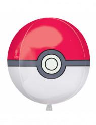 Pokeboll ballong i aluminium till kalaset