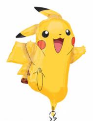 Pikachu från Pokemon™ - aluminiumballong 62 x 78 cm
