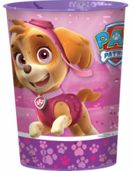 Rosa glas i plast Paw Patrol™ 473 ml