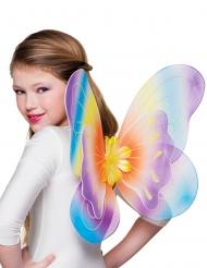 Färgglada fjärilsvingar 40x50 cm barn