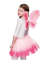 Rosa vingar och tutu barn