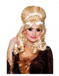 Blond Baronessa peruk för vuxna