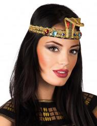 Egyptiskt pannband med fejkjuveler vuxen