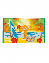 Polyesterflagga Beach Party 90 x 150 cm