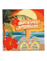 12 Beach Party servetter 33 x 33 cm