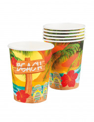 6 Beach Party muggar 250 ml