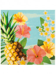 Pigga Hawaii-servetter 33 x 33 cm