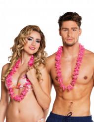 25 rosa Hawaiihalsband