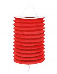 12 röda papperslyktor till festen