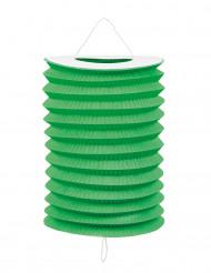 12 Gröna papperslantärnor