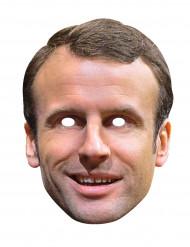 Emmanuel Macron - Kartongmask