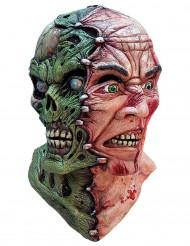 Two face - Halloweenmask för vuxna