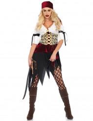 Flörtig pirat - Maskeradkläder för vuxna