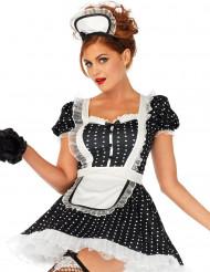 Prickig french maid - Sexig maskeraddräkt för vuxna