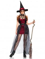 Ockult häxa - Halloweenkostym för vuxna