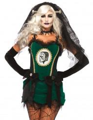 Frankensteins monsters brud - Halloweenkostym för vuxna