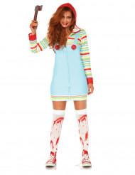 Besatt docka - Halloweenkostym för vuxna