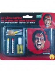 Penna genom huvudet - Kit för att skapa sår till Halloween