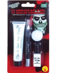Kit med självlysande smink till Halloween