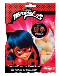 Ufo-karameller från Ladybug™ med sticker