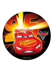 Tårtbild från Bilar 3™ med tryck av Blixten McQueen