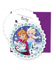 6 Frost™ inbjudningskort med kuvert
