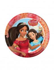 8 tallrikar i kartong från Elena från Avalor™