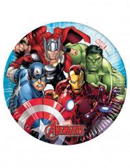 Små Avengers Mighty™ kartongtallrikar 20 cm