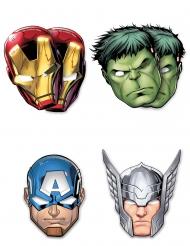 6 Avengers Mighty™ masker i kartong
