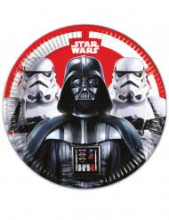 8 Star Wars Final Battle™ Kartongtallrikar 23 cm