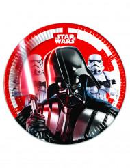 8 små Star Wars Final Battle™ tallrikar 20 cm