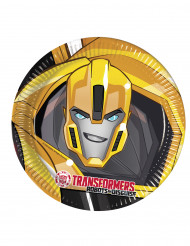 8 Transformers RID™ kartongtallrikar 23 cm