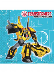 20 Transformers RID™ pappersservetter 33 x 33 cm