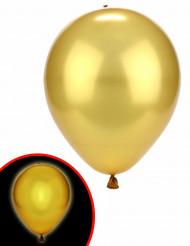 Illooms® gyllene ballong med LED-ljus