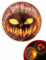 Lysande pins till Halloween - Maskeradtillbehör