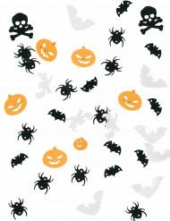 Bordskonfetti till Halloweendukningen