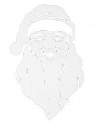 Fönsterdekoration med jultomtens ansikte 35 cm