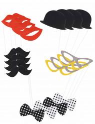 Damer & Herrar - Photobooth kit till festen