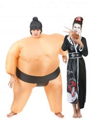 Sumo & Geisha - Pardräkt för vuxna till Halloween