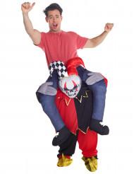 Rider på en skäcknarr - Carry me-dräkt för vuxna