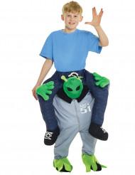 Min vän Alien - Carry me-dräkt för barn till maskeraden