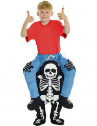 Världens starkaste skelett - Halloweenkostym för barn