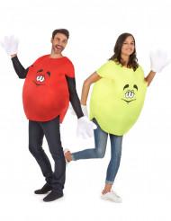 Par i karameller - Pardräkt för vuxna