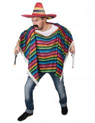 Mexikanskinpirerad poncho till maskeraden